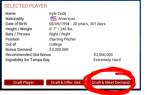 This is a nifty little added feature. Saves a few clicks for all the top draft picks.
