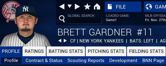 I had no idea Brett Gardner looks like a 45-year-old tax accountant from New Jersey!